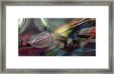 Jumped By Heir Framed Print