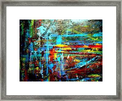 Jungle Boogie 120808-1 Framed Print by Aquira Kusume