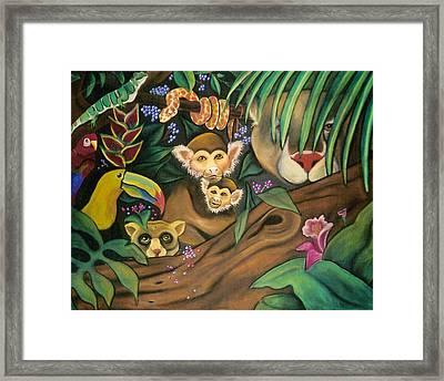 Jungle Fever Framed Print by Juliana Dube