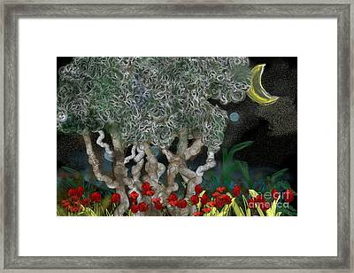 Jungle Night Framed Print by Gabrielle Schertz