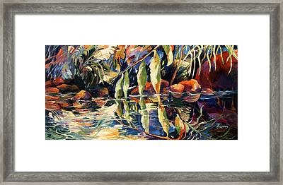 Jungle Reflections Framed Print