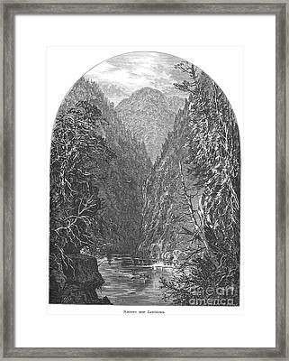 Juniata River Framed Print