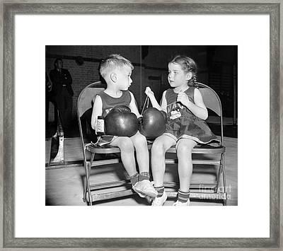 Junior Boxer, 1939 Framed Print by Granger