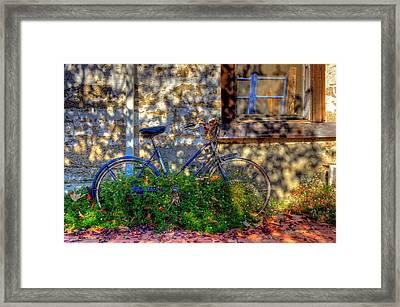 Junked Framed Print by Eyal Nahmias