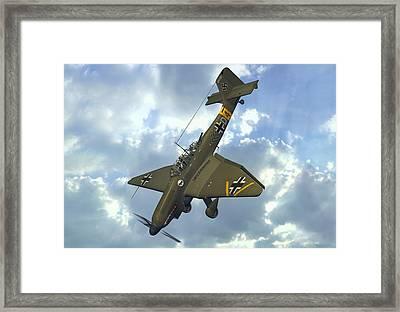 Junkers Ju87 Stuka Framed Print