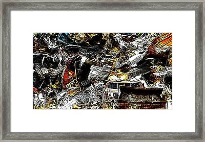 Framed Print featuring the photograph Junky Treasure 2 by Lydia Holly