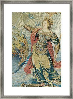Juno, Roman Goddess Framed Print by Photo Researchers
