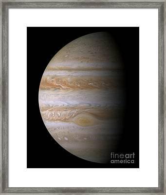 Jupiter Framed Print by NASA/JPL-Caltech