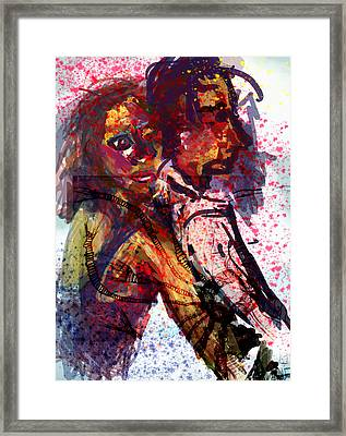 Just A Bit Longer And We'll Be Zombies Framed Print by James Thomas