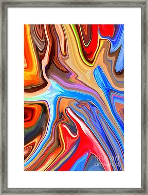 Just Abstract IIi Framed Print by Chris Butler