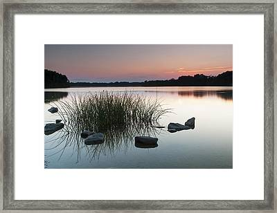 Just Another Sunset Framed Print by Edward Kreis