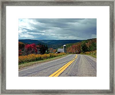 Framed Print featuring the photograph Just Below Heaven by Christian Mattison