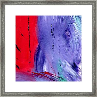 Framed Print featuring the painting Just Color by Carolyn Repka