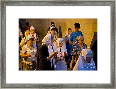 Just Keep The Candles Burning Framed Print by Arik Baltinester