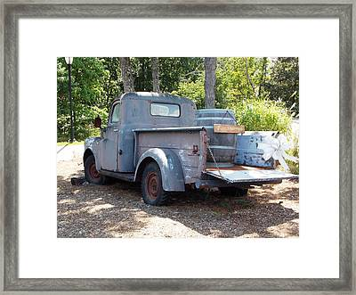 Just Married Framed Print by Regina McLeroy