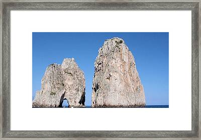 Just Passing Through Framed Print by