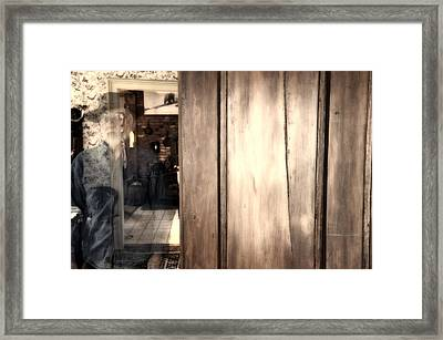 Just Passing Through Framed Print by Ross Powell