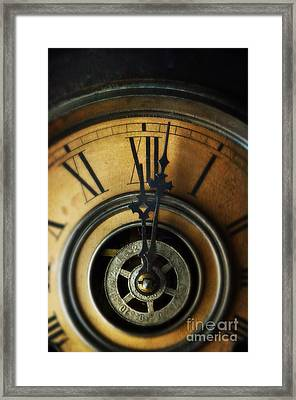 Just Past Midnight Framed Print