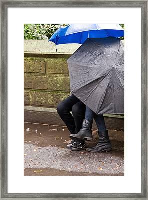Just Us... Framed Print by Michael Braxenthaler