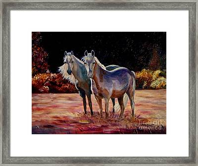 Just Who Are You Framed Print