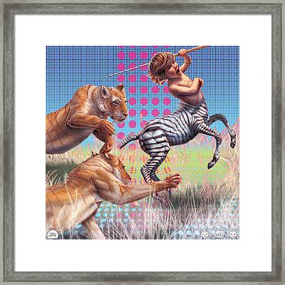 Justified Framed Print by David Starr