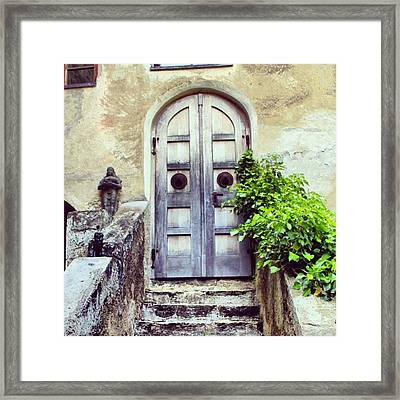 Juval Castle Framed Print