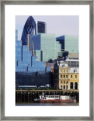 Juxtaposed Framed Print by John Clark