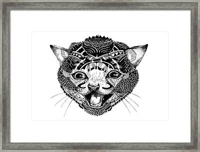 K Kat Framed Print by JF Mondello