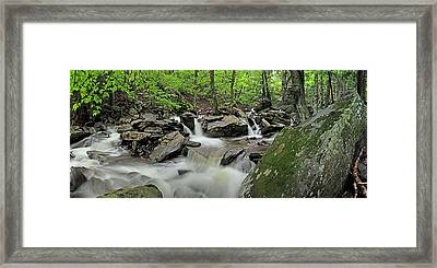 Kaaterskill Creek Panorama Framed Print