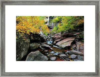 Kaaterskill Fall Framed Print