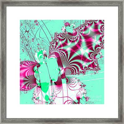 Kabuki . Square Framed Print