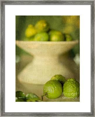 Kaffir Limes Framed Print by Linde Townsend