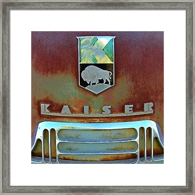 Kaiser Vintage Grill Two Framed Print