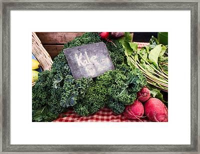 Kale Framed Print
