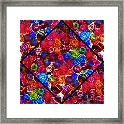 Kaleidoscope Framed Print by Judi Bagwell