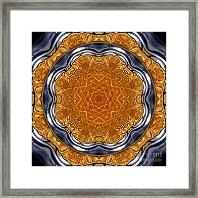 Kaleidoscope Perfume Bottle Framed Print