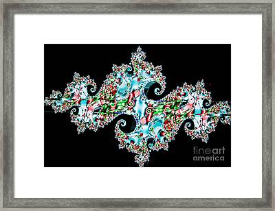 Kaleidoscope Framed Print by Tashia Peterman