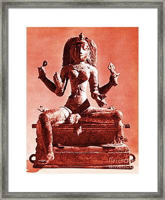 Kali Framed Print by Photo Researchers