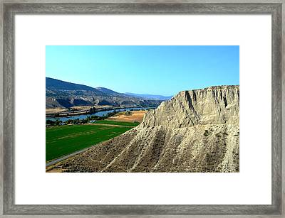 Kamloops British Columbia Framed Print
