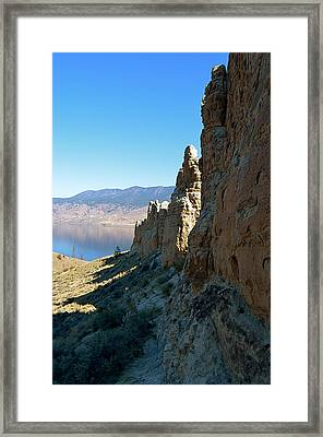 Kamloops Lake Hoo Doo's Framed Print