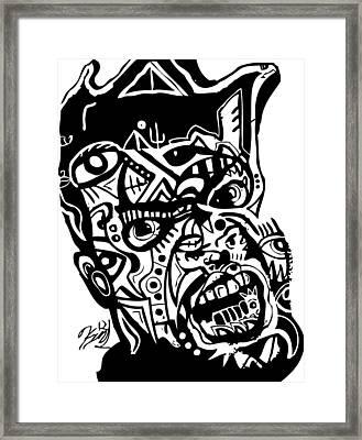 Kamoni-khem Framed Print by Kamoni Khem
