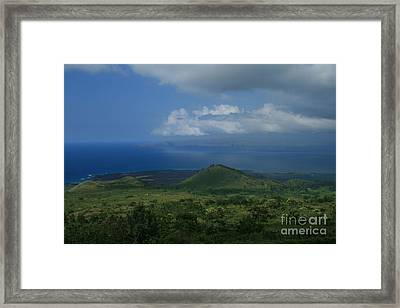 Kanaloa Framed Print by Sharon Mau