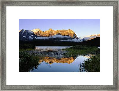 Kananaskis Country Framed Print by Christian Heeb