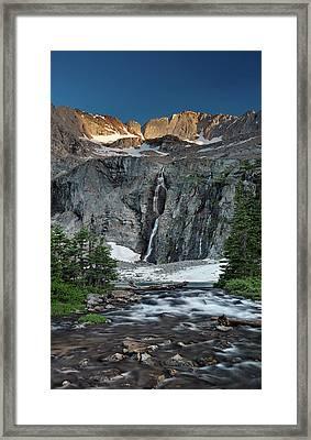 Kane Lake Framed Print by Leland D Howard