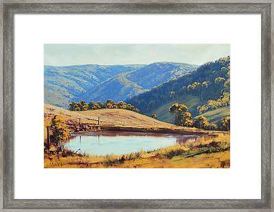Kanimbla Valley Dam Framed Print