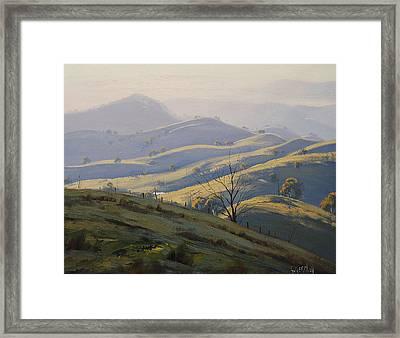 Kanimbla Valley Morning Framed Print by Graham Gercken