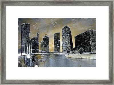Kansas City Framed Print by Dee Presser