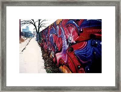 Kansas City Graffiti  Framed Print by Frank DiGiovanni