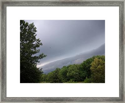 Kansas Mountains Framed Print by Elizabeth Sullivan