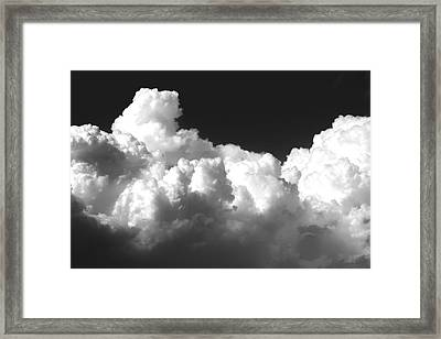 Kansas Thunderheads   Framed Print